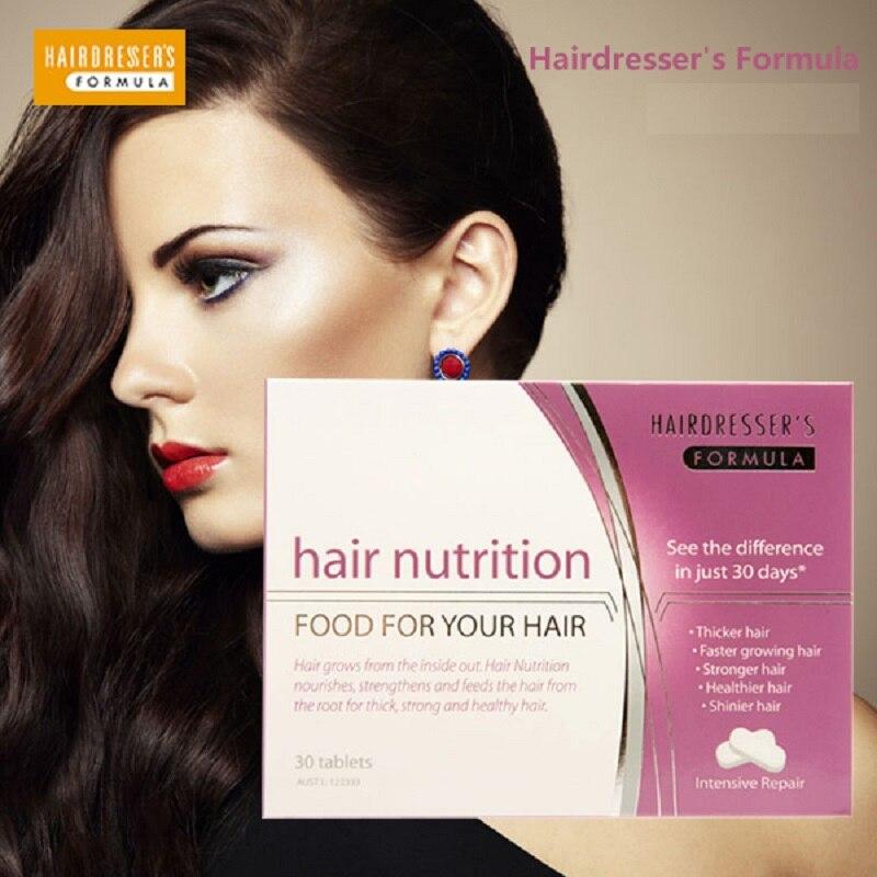 Australia Hairdresser Formula Hair Nutrition For Women Vegetarian Hair Vitamin Supplement Supports Healthy Stronger Shinier hair<br><br>Aliexpress