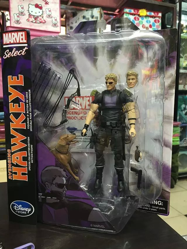 Marvel Select Hawkeye PVC Action Figure Toys Collectible Model 718cm  KT1344<br><br>Aliexpress