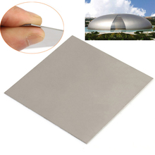 1pc New TC4/GR5 Titanium Metal Plate Ti Sheet Silver Color with Heat Resistance 1mmx100mmx100mm