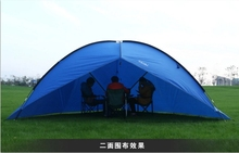 5-8 Person Big size outdoor camping tent, 480x480x480cm waterproof tent for camping, 4.6kg two side shelter