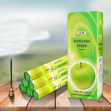 6Boxes/Set India Laoshan Sandalwood Stick Incense Living Room Anti-Odour Refreshing Incense Sticks 220mm 5 Kinds of Fragrance(China)