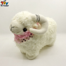 28cm Plush Sheep Toy Stuffed Cartoon Lamb Mutton Dolls Baby Kids Children Kawaii Birthday Gift Home Shop Decoration Triver