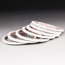 3PCS Super Slim Strong Adhesion Double Sided Sticky Tape White Powerful Doubles Faced Adhesive for Office Supplies