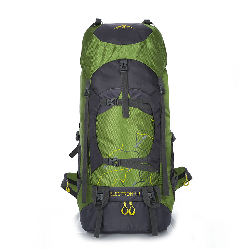 60L Professional Mountaineering Climb Backpack Travel Mochilas Laptop Back Bags Camp Hike Equipment For Men Women<br>