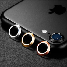 Rear Camera Lens Protective Ring Cover Protector Protection 4.7inch For iPhone 7 2016 Metal Case Luxury Mobile Phone Accessori