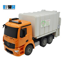 ShuangYing Remote Control Pioneer Car Toy Garbage Truck Charging RC Vehicle Can Lift Garbage Bucket