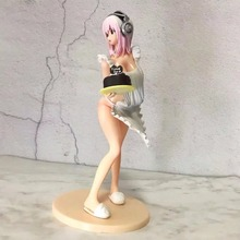 21cm Anime Action Figure Super Sonico Cake Sonic Valentine Ver Model PVC Valentine's Day Gift(China)