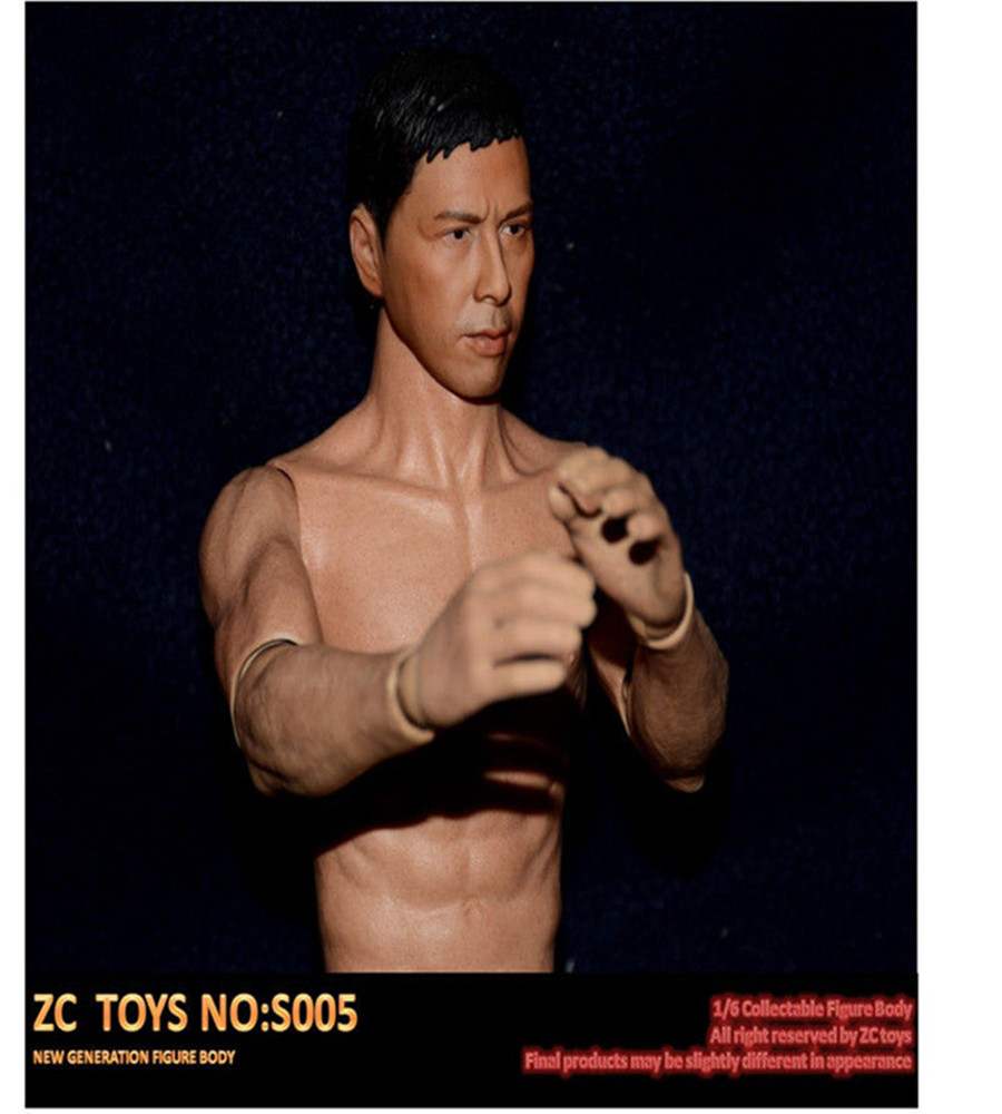 1:6 Male Narrow Shoulder Muscular Action Figure Asian Color Body 12 <br>