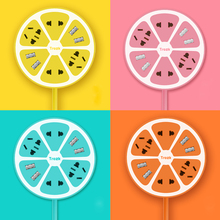 New 4 USB Multifunctional Lemon Plug Strip Universal Smart Charging Socket For iPhone iPad Android Green Pink Yellow Orange