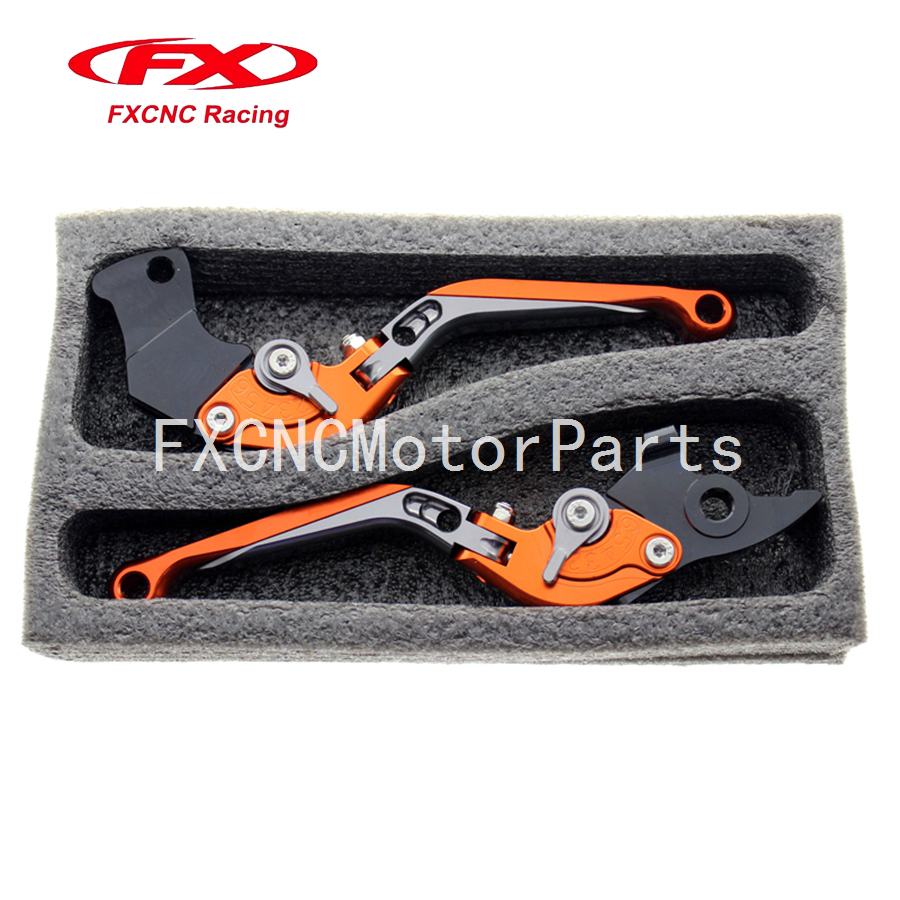 For KTM 1290 Super Duke R/GT RC8/RC8 R Motorcycle CNC Billet Aluminum Folding Extendable Brake Clutch Levers With Package<br>