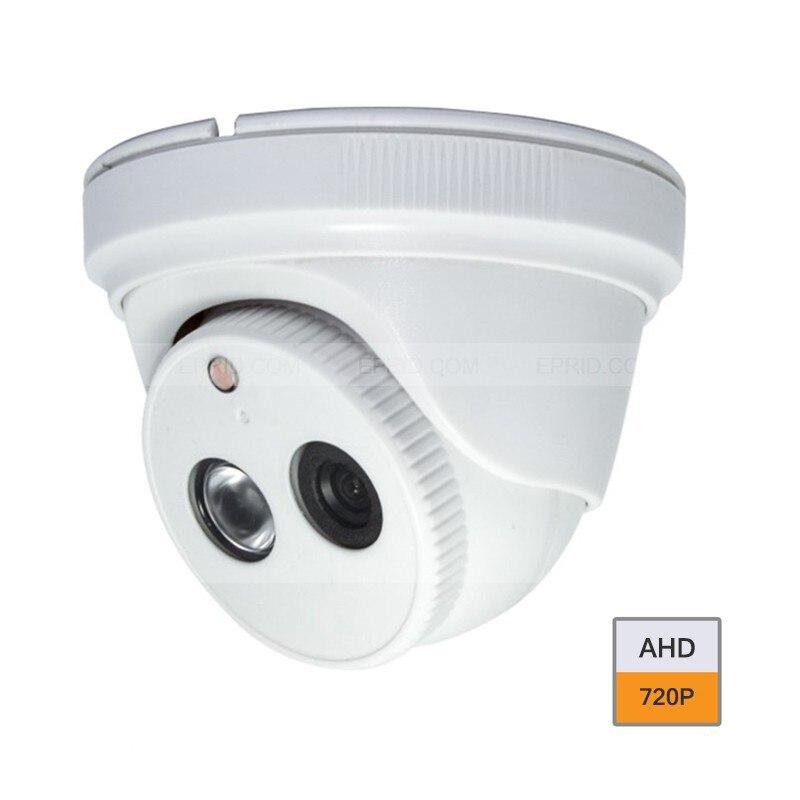 HD 1.0MP 720P AHD Home Indoor CCTV Security Dome Camera IR-CUT<br>