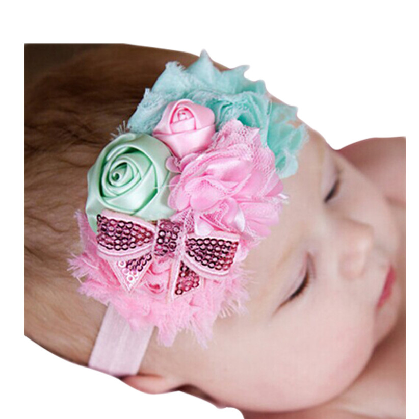 Newly Design Lovely Babies Girls Headbands Rhinestone Rosebud Hair Accessories For Girls Infant Hair Band May11 ZQ Drop Shipping<br><br>Aliexpress