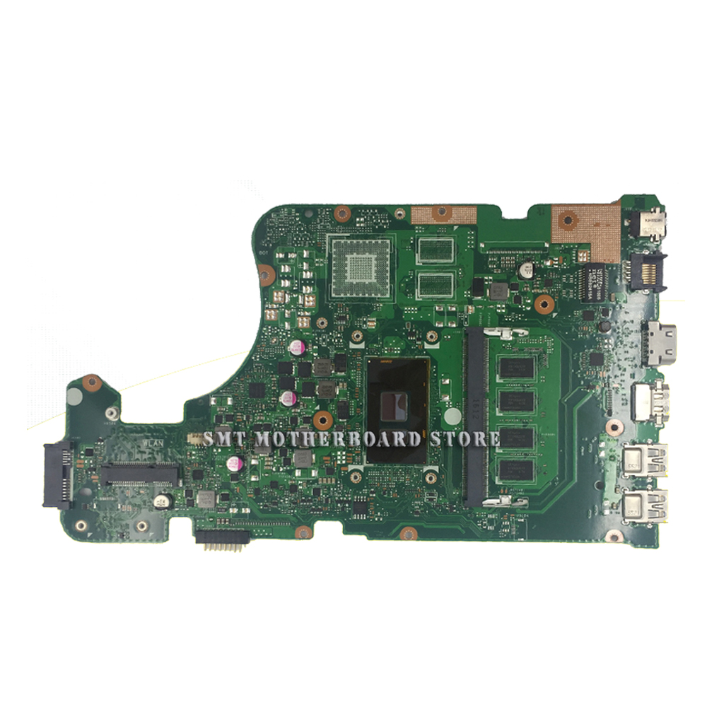 X555UF Motherboard For ASUS X555UQ X555UB X555UJ W// i7-6500U 4G Mainboard GT920M