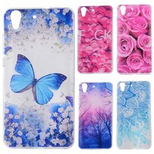 Phone Cases sFor Huawei Y6 II Y6II Flowers Rose Plants Butterfly Pattern Clear Soft TPU Back Cover for Huawei Honor 5A 5.5""