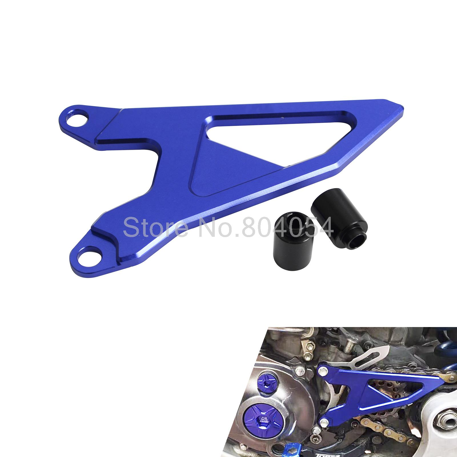 CNC Billet Aluminum Front Sprocket Cover For Yamaha YZ 250F 450F 2014-2016 YZ250FX 2015 2016 WR250F 2015 NEW<br>
