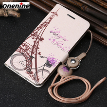 Leather Cases for Huawei Honor 6A Case Flip Leather Wallet Card Cover 5.0 inch Full Protection Cute Mobile Phone Case Back Cover(China)