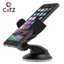 COTZ Car Phone Holder Stand 360 Adjustable Rotate For iPhone 6s 7 Plus Mobile car holder Universal Mobile Phone holder Stands