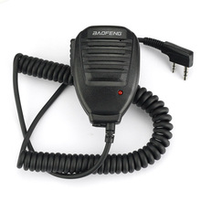 Baofeng Handheld Microphone Speaker Mic for BAOFENG MD-5R UV-5R 5RA/B/C/D/E UV-3R Plus BF-888S GT-3 Walkie Talkie(China)