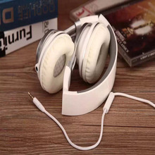 Headset EP-16 Headphones with Microphone and Volume Control Foldable Headset for iPhone 6/6s iPad/iPod, Android Device ,computer