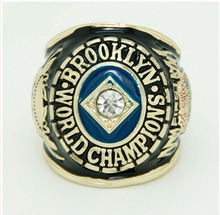 Wholesale 1955 Los Angeles Dodgers Major League Baseball Zinc Alloy 24K gold Custom Sports Replica Men Championship Ring