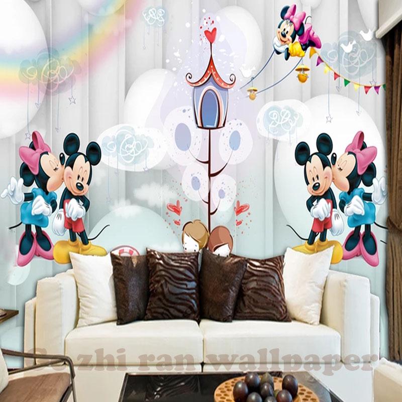 HTB14p42dQ7mBKNjSZFyq6zydFXam - Custom 3D Cartoon Mural Wallpaper For Children Room
