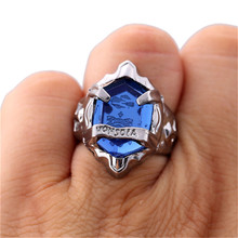 Big Discount Katekyo Hitman Reborn Animation Ring Vongola Rings Size 8 Jewelry 6 Color Option Stone Inset Metal Gift Accessory