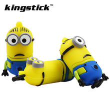 USB Flash Drive Cartoon minions pendrive Pendrive Minions 4GB 8GB 16GB USB Stick usb minion usb flash Pen Drive 32g 64g