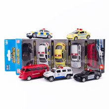 1:64 Child Mini Alloy Model One contains five Choose from a variety of styles Pull Back Function Child Car Toy(China)