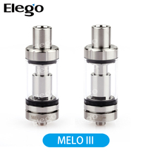 Eleaf Melo 3 Atomizer 4ml Top Filling Airflow Control Subohm Tank Melo III Electronic Cigarette Atomizer Steel Black Available