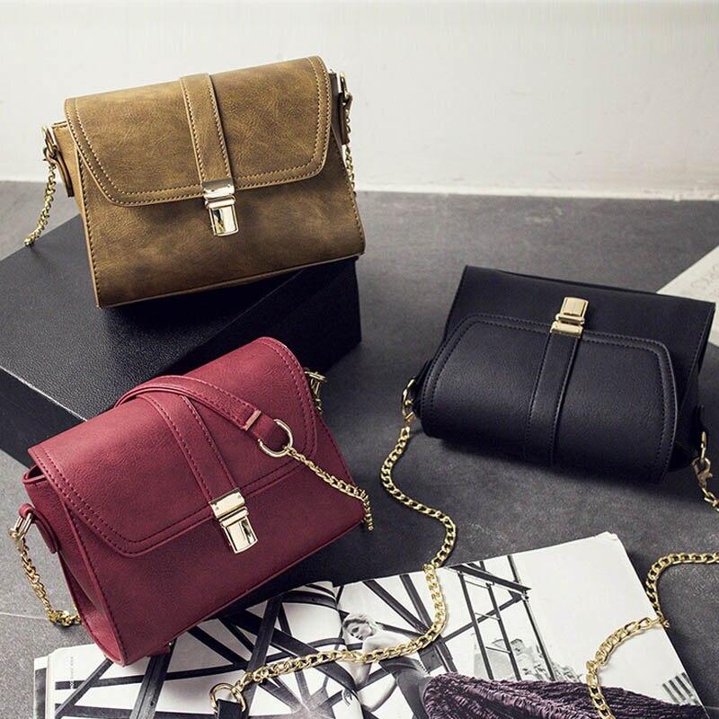 2017 new fashion women messenger bags casual flap bag PU leather women shoulder bags mini chain ladies crossbody bag,LB2537<br><br>Aliexpress
