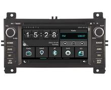 Car GPS Navigation DVD for Jeep Grand Cherokee 2011-2013 with bluetooth ipod PIP 8G map card