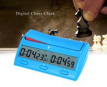 Multifuctional LEAP PQ9912 Professional Digital Chess Clock Count Down Timer Novelty Practical Game Competition Count Up Player