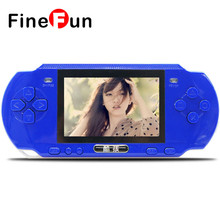 FineFun RS-3 3.0 Inch Children's Handheld Game Console 16-bit Classic Nostalgic Games Machine Kids Gifts Black/White/Green/Blue(China)