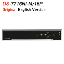 Buy HIK English Version Updatable DS-7716NI-I4/16P 4K Network Video Recorder 4 SATA 16POE 16CH IP Camera input 12MP for $482.00 in AliExpress store