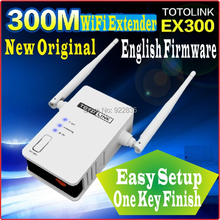 One Key Finish Setup [English Firmware] Totolink 300Mbps WiFi Universal Repeater WiFi Range Extender WiFi Amplifier(China)