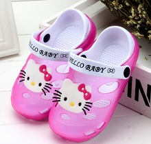 2016 New Summer Baby Girls Sandals Shoes Children Hello Kitty Shoes Toddler Boys Sandals Kids Shoes For Girl Sandals Size 24-35