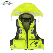 Lixada Adult Outdoor Vest L-XXL Fishing Jacket Polyester Safety Life Vest For Boat Drifting Survival Swimwear Colete Salva-Vidas
