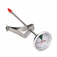 Stainless Steel Probe Thermometer Kitchen Food Cooking Milk Coffee Safely Useful ER37456(China)