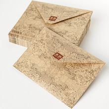 2017 Promotion Kraft Envelope 10 Pcs/lot Vintage Retro Kraft Paper Envelope For Business Card Style High Quality Free Shipping(China)