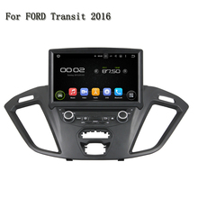 ROM 16GB Android 5.1.1 Support Mirror link BT 4G WiFi OBD DVR Auto PC Car DVD Player GPS Navigation For Ford Transit 2016