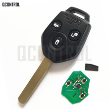 QCONTROL Car Remote Key Fit for Subaru for Forester Outback Legacy 2008 2009 2010 2012 2013 2014(China)