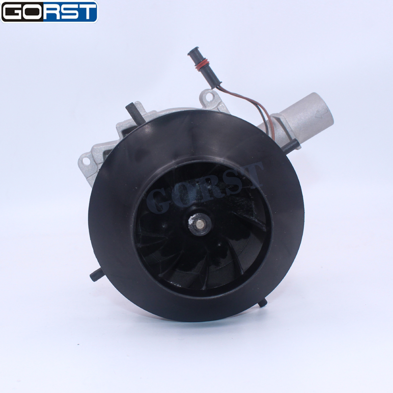 Auto parts 5KW 12V 24V blower motor big leaf assembly combustion air fan For Eberspacher D4 Car Air Diesel Heater Truck parts-6