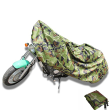 Partol  XL  Motorcycle Cover Outdoor Forest Camouflage Weatherproof UV Protector Bike Rain Dustproof Motor Cover Scooter
