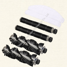 Original A320 Robot vacuum cleaner rubber brush and hair brush, mop supply from the factory