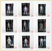 "Star Wars The Black Series 6"" Boba Fett /stormtrooper/ Sandtrooper/ Han Solo/Clone Trooper Captain Action Figure In Box"