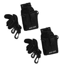 2Pcs Multi-function Radio Case Holder Bag for Kenwood/Yaesu/Motorola GP328+/344(China)