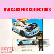New Arrivals 2017 Hot 1:64 Car wheels Dodge Viper Srt10 ACR Metal Diecast Cars Collection Kids Toys Vehicle For Children
