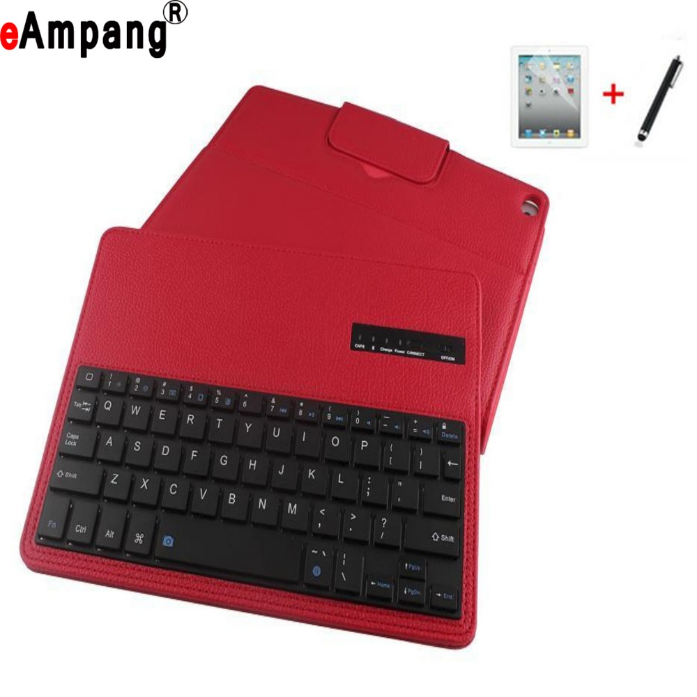 Bluetooth Keyboard Cover Case For Apple iPad Air 9.7 inch Tablet PC Protector For iPad Air 2 Case with Bluetooth Keyboard<br>