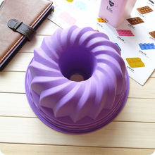 Comply Soft good elasticity big Goo goo hoff silicone baking molds cupcake molds brotbackform moule silicone coeur E55