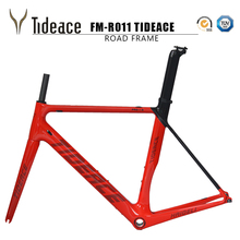 2017 tideace carbon road bike frames racing bike frame bicycles carbon road frame cycling frameset with fork Fast Free Shipping(China)